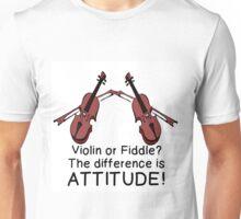 VIOLIN OR FIDDLE? Unisex T-Shirt