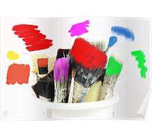 Pot of Many Colours Poster