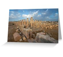Jerash Greeting Card