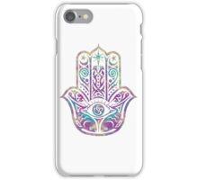 Colorful Hamsa Hand iPhone Case/Skin