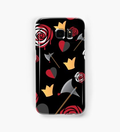Queen of Hearts icons Samsung Galaxy Case/Skin
