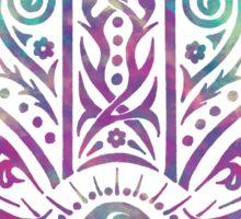 Colorful Hamsa Hand Sticker
