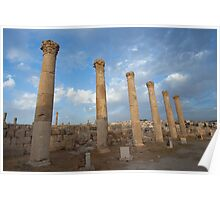 City greco-roman of Jerash Poster