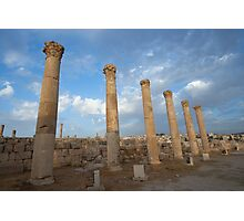 City greco-roman of Jerash Photographic Print