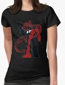 Optimus Prime - Écorché (dark) Womens Fitted T-Shirt