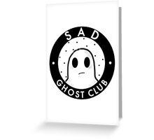 Sad ghost club Greeting Card