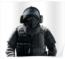 Blitz Rainbow 6 Siege - portrait Poster
