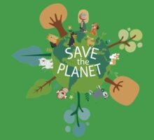 Save the Planet One Piece - Short Sleeve