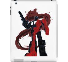 Optimus Prime - Écorché (dark) iPad Case/Skin
