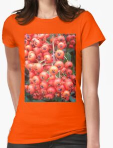Cotoneaster 5 Womens Fitted T-Shirt