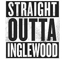 -STRAIGHT OUTTA- Inglewood Photographic Print