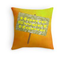 Home Sweet Home - pillow & tote Throw Pillow