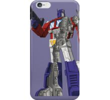 Optimus Prime - Écorché iPhone Case/Skin
