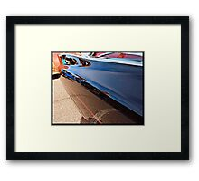 Caddy Reflections Framed Print