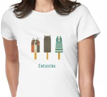 Catsicles Womens Fitted T-Shirt