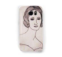 Portrait of Mary Shelley  Samsung Galaxy Case/Skin