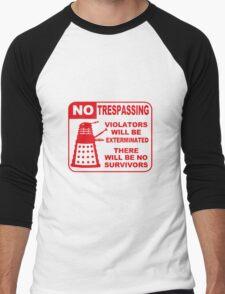 Signs of Danger! Men's Baseball ¾ T-Shirt