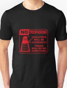 Signs of Danger! Unisex T-Shirt