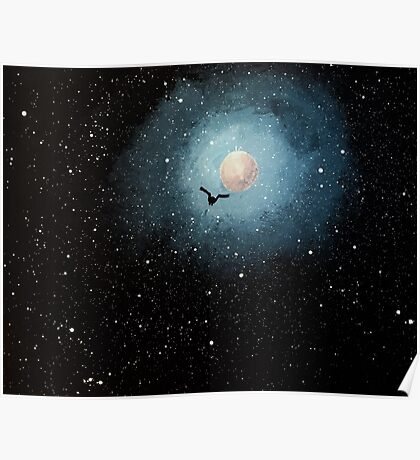 """""""Insignificant in the vast, starry sky..."""" Poster"""
