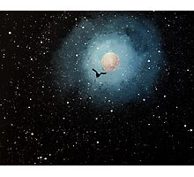 """""""Insignificant in the vast, starry sky..."""" Photographic Print"""