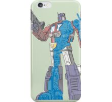 Optimus Prime - Écorché (blueprint v2) iPhone Case/Skin