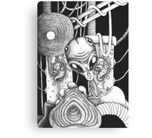 Alien experiment Canvas Print