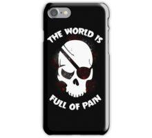 Skull Halloween Dark Black Scary iPhone Case/Skin