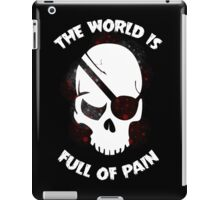 Skull Halloween Dark Black Scary iPad Case/Skin