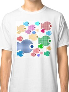 Baby Doll Rainbow fishes Classic T-Shirt