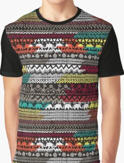 Aztec style. Graphic T-Shirt