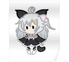 Mini Chibi Neko Poster