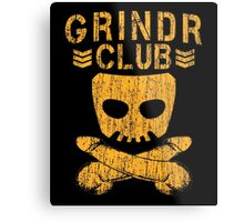 Grindr Club Metal Print