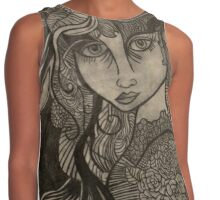 Mysterious Girl Contrast Tank
