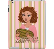 I Carried a Watermelon iPad Case/Skin