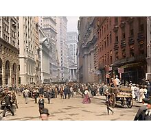 Curb Market in NYC, ca 1900 Photographic Print