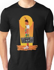 Sunset Boombox Unisex T-Shirt
