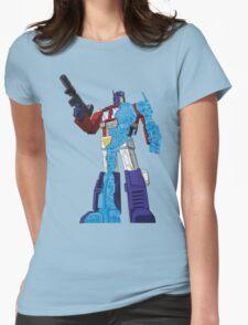 Optimus Prime - Écorché (blueprint v1) Womens Fitted T-Shirt