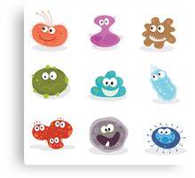 Germs II. Swine flu, cancer, staphylococcus or trojan virus Metal Print