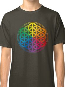 Flower Of Life, Sacred Geometry, Yoga Classic T-Shirt