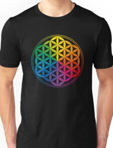 Flower Of Life, Sacred Geometry, Yoga Unisex T-Shirt
