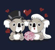 Koala's Wedding Kids Tee