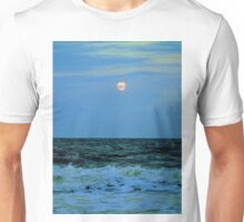 Full Moon At The Beach Unisex T-Shirt