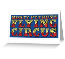 Monty Python's Flying Circus Greeting Card