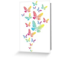 Watercolor Butterflies Greeting Card