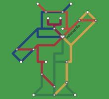 Robot: Indianapolis Kids Tee