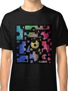 Colorful puzzle  Classic T-Shirt
