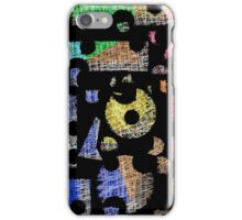 Colorful puzzle  iPhone Case/Skin