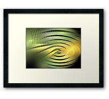 Solar Rings Framed Print