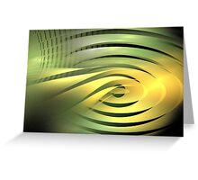 Solar Rings Greeting Card