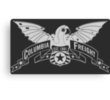 Bioshock Infinite - Columbia Freight (White) Canvas Print